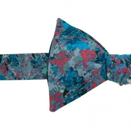 Noeud Papillon Bleu Liberty Renoir