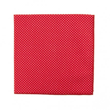 Red with Pin Dots Bow Tie
