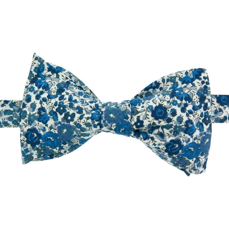 Blue Emma Liberty Bow Tie