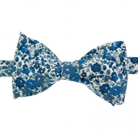 Noeud Papillon Liberty Emma Bleu