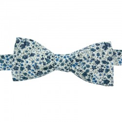 Navy blue Phoebe Liberty bow tie