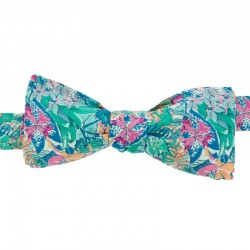 Green/Pink Diane Bow Tie