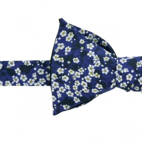 Noeud Papillon Liberty Mitsi Valéria Bleu