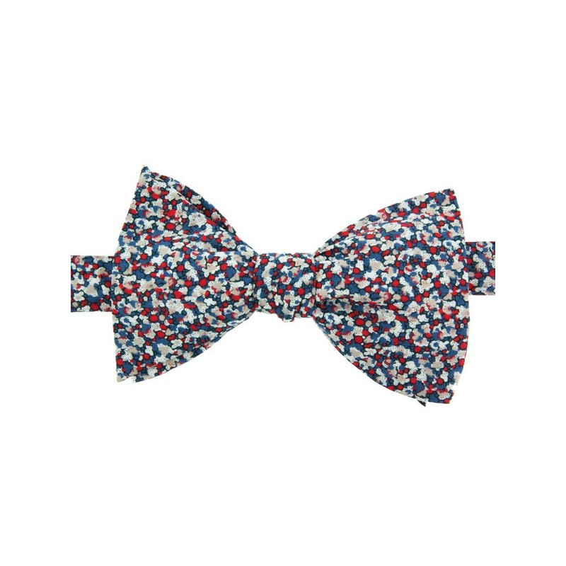 Noeud Papillon Liberty Pepper Marine / Rouge