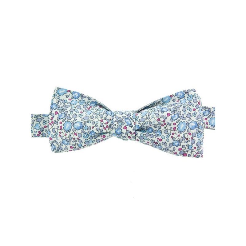 Noeud Papillon Liberty Eloise Bleu Lavande