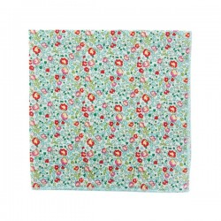 Turquoise Eloise Liberty pocket square