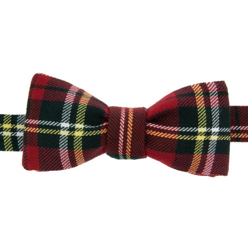 vente de sortie meilleur prix Livraison gratuite dans le monde entier Red Tartan bow tie