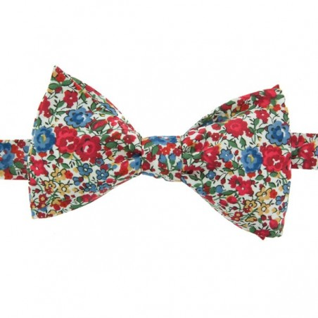 Red Emma Liberty Bow Tie