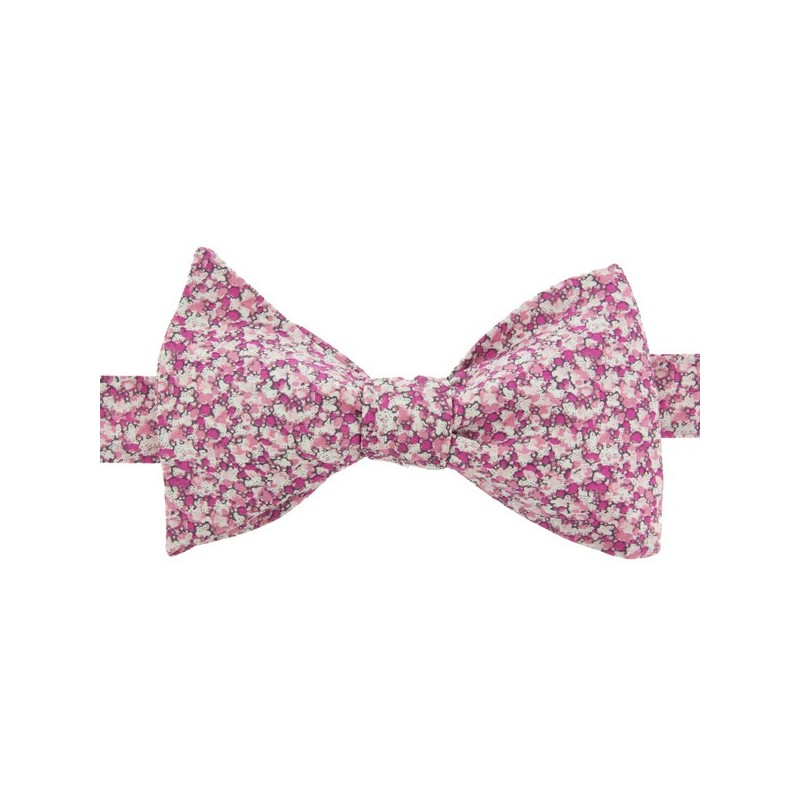 Pink Pepper Liberty Bow Tie