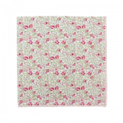 Classic Pink Eloise Liberty pocket square