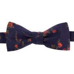 Purple Elizabeth Liberty Bow Tie