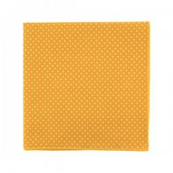 Pochette de costume Jaune d'or à pois