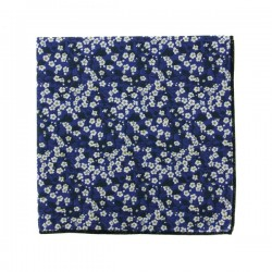 Dark blue Mitsi Valéria Liberty pocket square