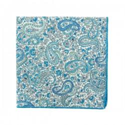 Light blue Charles Liberty pocket square
