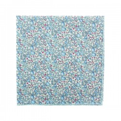 Lavender blue Eloise Liberty pocket square