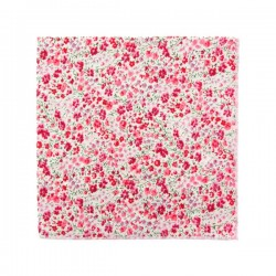 Pink Phoebe Liberty pocket square