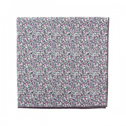 Purple Pepper Liberty pocket square
