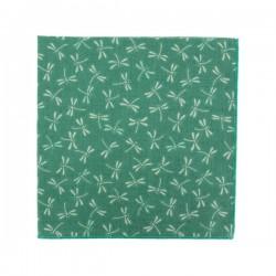 Pochette de costume Japonais Libellule Vert