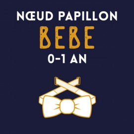 Noeud Papillon BEBE - 0 à 1 an