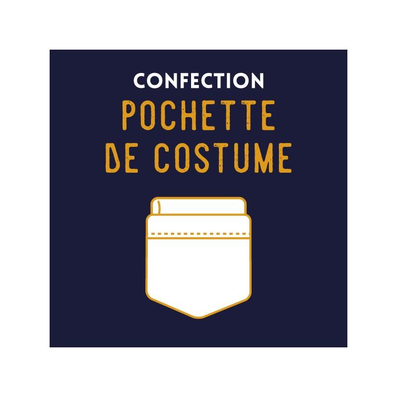 confection pochette de costume le colonel moutarde. Black Bedroom Furniture Sets. Home Design Ideas