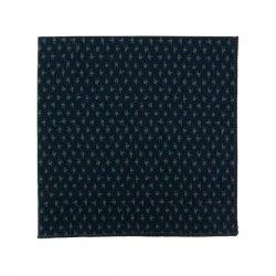 Navy blue Kyoto Asanoha Pocket square
