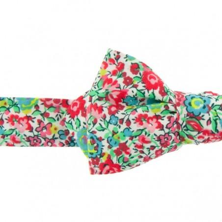 Noeud Papillon Liberty Emma Rose vert