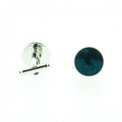 Black and blue Panther Liberty cufflinks