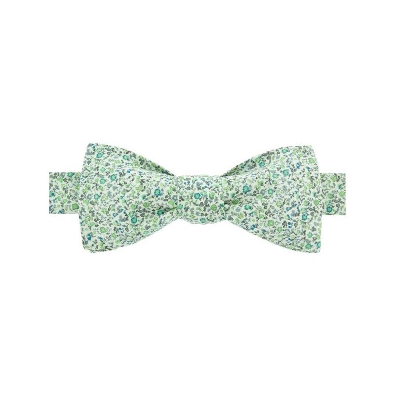 Green Newland Liberty Bow Tie