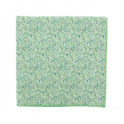 Green Newland Liberty pocket square