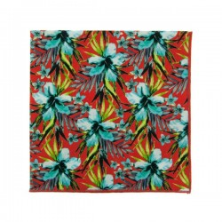 Red Vahine Liberty pocket square