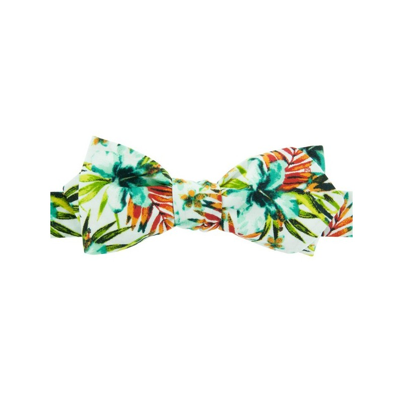 White / mint Vahine Liberty Bow Tie