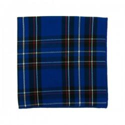 Pochette de costume Tartan Bleu