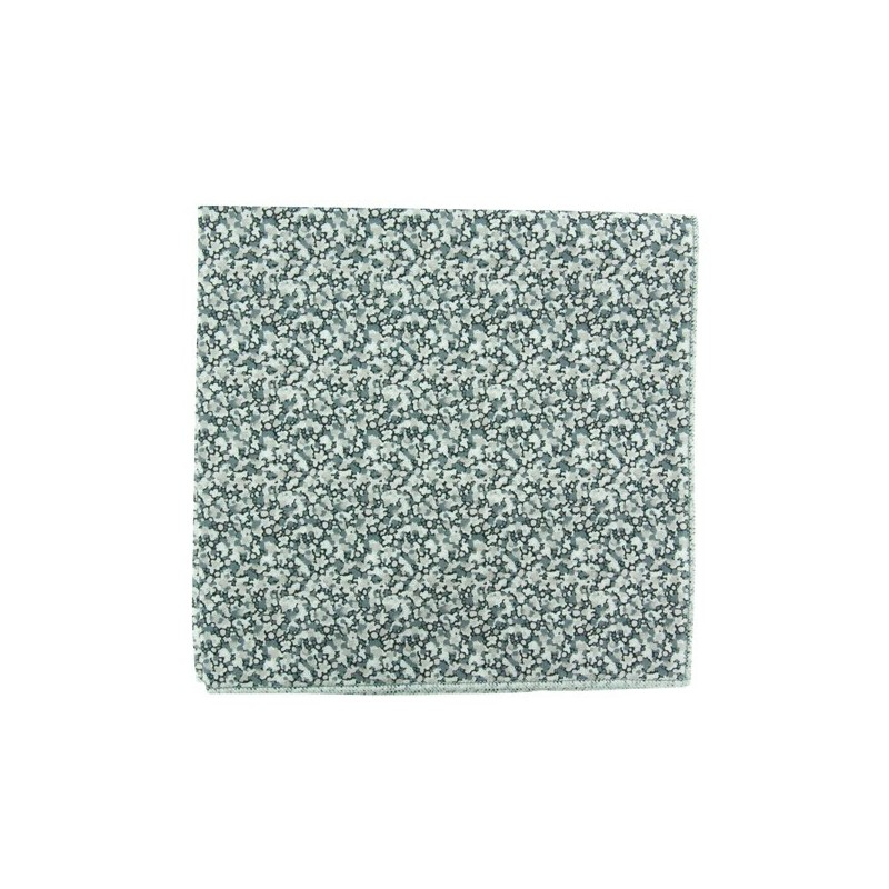 Grey Pepper Liberty pocket square
