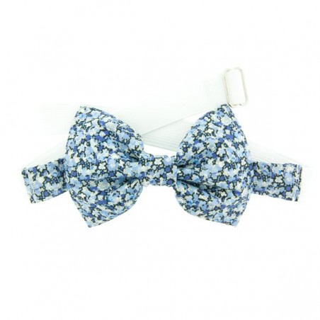 Blue Pepper Liberty Kid Bow Tie