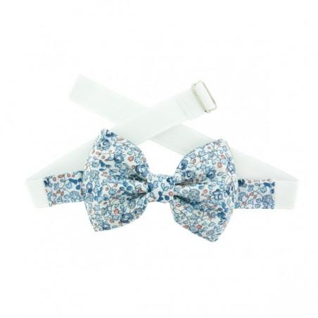Light Blue Eloise Liberty Kid Bow Tie