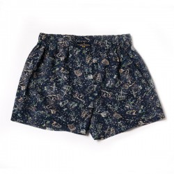 Navy Zodiac Liberty boxer shorts