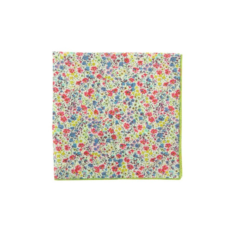 Tutti fruti Phoebe Liberty pocket square