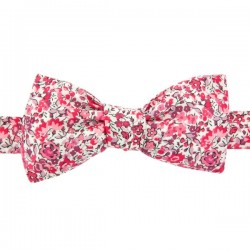 Raspberry Pink Emma Liberty bow tie