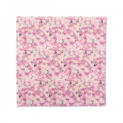 Blush Mitsi Valéria Liberty pocket square