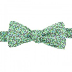 Green Chlorophyll Pepper Liberty bow tie