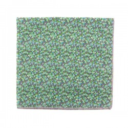 Green Chlorophyll Pepper Liberty pocket square