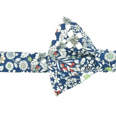 Noeud Papillon Liberty June Meadow Bleu marine