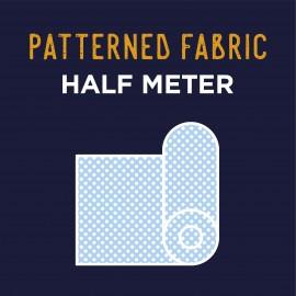 Half meter Plain/Motifs