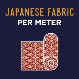 Tissu au mètre Japonais