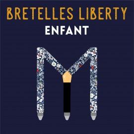 Bretelles Liberty ENFANT - SUR MESURE