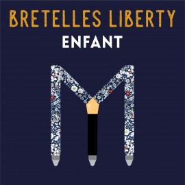 Kid Liberty braces, tailored