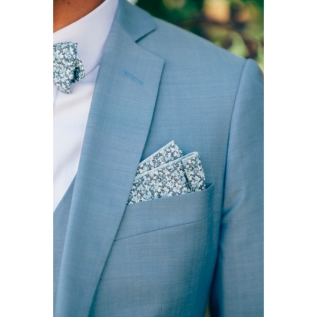 Blue Pepper Liberty Bow Tie