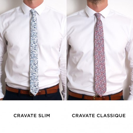 Tailor-made tie / Classic or Straight