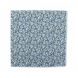 Blue Pepper Liberty pocket square