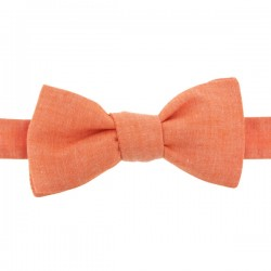 Lobster Chambray bow tie